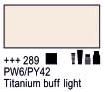 Краска акриловая AMSTERDAM, 20мл (289) Титановый буфф светлый, Royal Talens,  17042890,  8712079347611