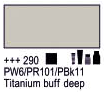 Краска акриловая AMSTERDAM, 20мл (290) Титановый буфф темный, Royal Talens,  17042900,  8712079347628