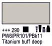 Краска акриловая AMSTERDAM, 20мл (290) Титановый буфф темный, Royal Talens,  17042900,  8712079347628, фото 2