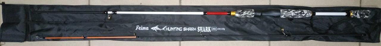 Спиннинг Shark Hunting Shark 2,1m, тест 5-25 г