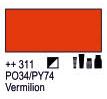 Краска акриловая AMSTERDAM, 20мл (311) Киноварь, Royal Talens,  17043110,  8712079342821, фото 2