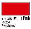 Краска акриловая AMSTERDAM, 20мл (315) Пирроловый красный, Royal Talens,  17043150,  8712079342838, фото 2