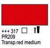 Краска акриловая AMSTERDAM, 20мл (317) Прозрачный красный средний, Royal Talens,  17043170,  8712079347758