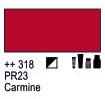 Краска акриловая AMSTERDAM, 20мл (318) Карминовый, Royal Talens,  17043180,  8712079342845, фото 2