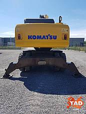 Колесный экскаватор KOMATSU PW200-7 (2007 г), фото 2