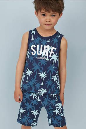 Летний комплект H&M для мальчика, фото 2
