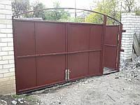 """Ворота с калиткой 4,5х2,0 """"под ключ"""""""