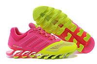 Женские кроссовки Adidas Springblade 2015 pink-green