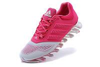 Женские кроссовки Adidas Springblade 2015 pink-grey, фото 1