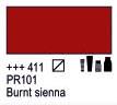 Краска акриловая AMSTERDAM, 20мл (411) Сиена жженая, Royal Talens,  17044110,  8712079342876