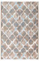 Ковер My Home Moretti Side двусторонний голубой и коричневый, фото 1