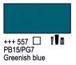 Краска акриловая AMSTERDAM, 20мл (557) Зелено-синий, Royal Talens,  17045570,  8712079347949, фото 2