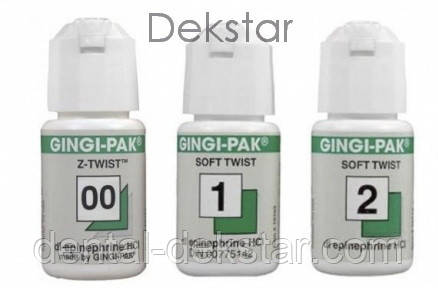 Нитка ретракційна Gingi-Pak, з епінефрином