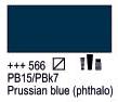 Краска акриловая AMSTERDAM, 20мл (566) Берлинская лазурь, Royal Talens,  17045660,  8712079347932, фото 2