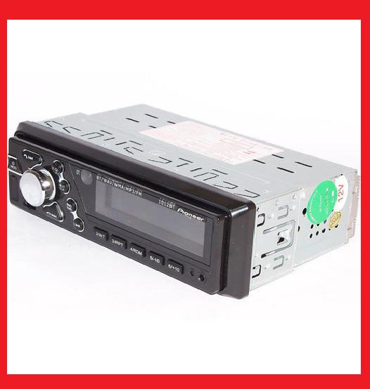 Автомагнитола Pioneer 1012 Bluetooth+FM+USB+SD+AUX 4x50W