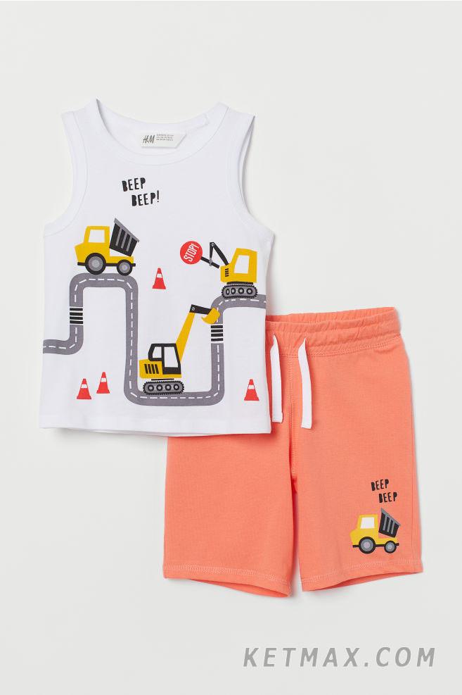 Летний комплект H&M для мальчика