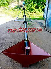 Шнековый погрузчик (транспортер, шнек) диаметром 110 мм, длинной 2 метра, фото 3