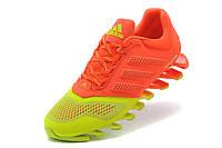 Женские кроссовки Adidas Springblade 2015 green-orange, фото 1