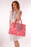 Прозрачная пляжная сумка Argento 6003 One Size Красный Argento 6003
