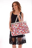 Белая пляжная сумка Argento 6006 One Size Белый Argento 6006