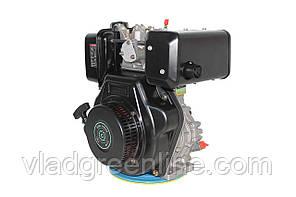 Двигатель дизельный GrunWelt GW186FВ (9,5 л.с., шпонка)