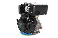 Двигатель дизельный GrunWelt GW186FВ (9,5 л.с., шлицы), фото 1
