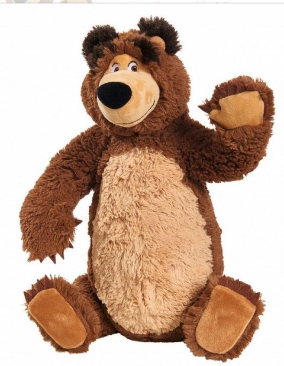 Плюшевый медведь из мультика Маша и медведь Simba 9309893