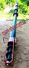 Шнековый перегрузчик (погрузчик, транспортер) диаметром 110 мм, длиною 4 метра, фото 3
