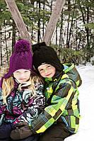 Коллекция зимних детских комбинезонов GUSTI (осень-зима)