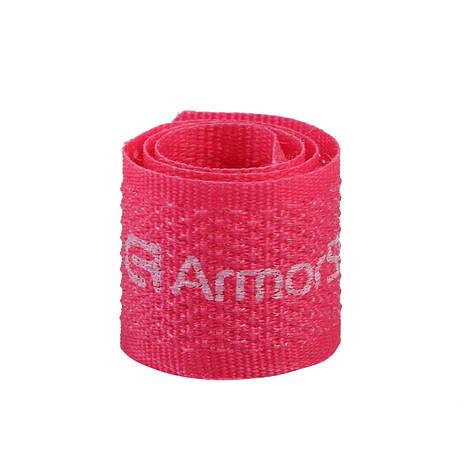 Органайзер-липучка для кабелей ArmorStandart Розовый (ARM53959), фото 2