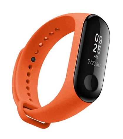Ремешок NZY для Xiaomi Mi Band 3 Оранжевый (ARM51831), фото 2