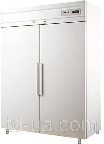 Холодильный шкаф с металлическими дверьми POLAIR Standard CV114-S