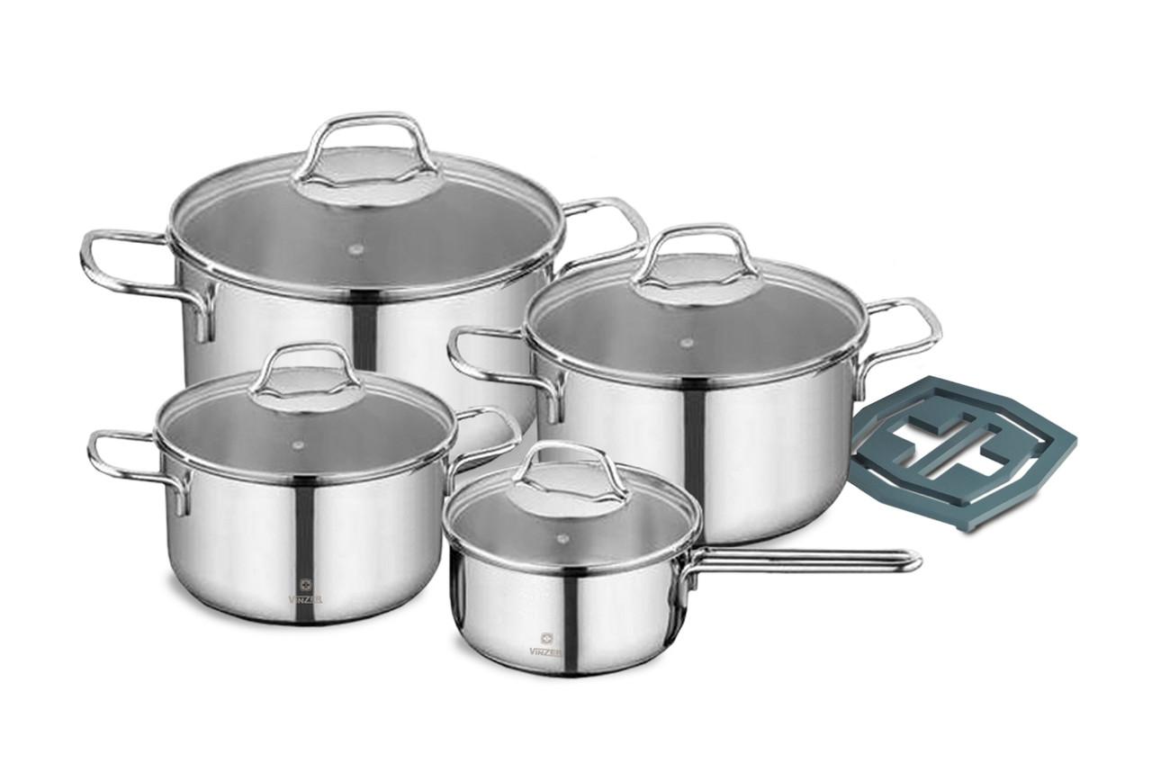 Набор посуды из нержавеющей стали Vinzer Delight (89022)