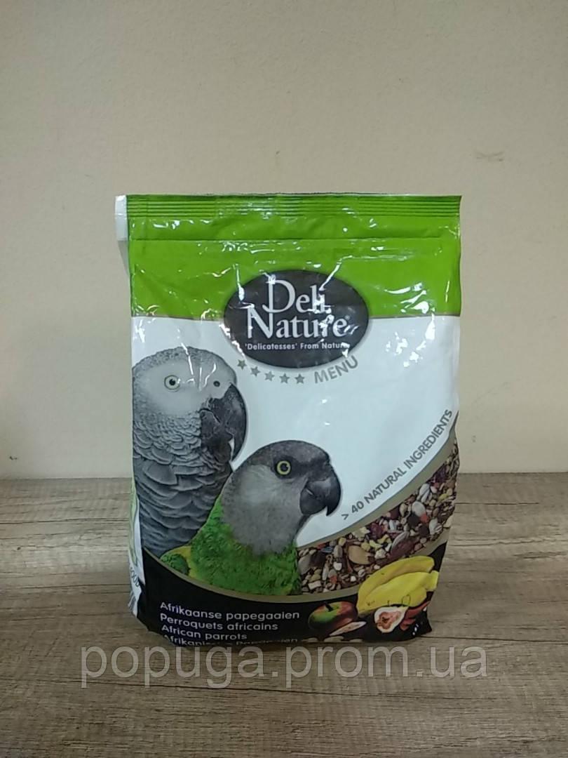 Корм для жако Deli Nature 5 ★, 2.5 кг, menu African parrots