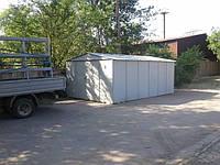 Выставочная площадка с гаражом в г. Запорожье.