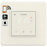 Wi-fi терморегулятор Terneo sx (сл. кость) для теплого пола