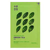 "Успокаивающея тканевая маска для лица ""Зеленый чай"" Holika Holika Pure Essence Mask Sheet Green Tea 20 мл"