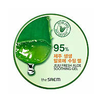 Гель с алоэ универсальный The Saem Jeju Fresh Aloe Soothing Gel 95%, 300 мл (8806164109458)