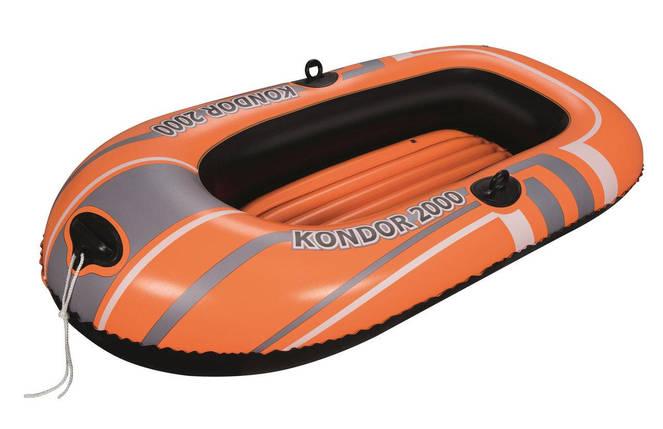 Надувная лодка Hydro-Force Raft Bestway 61100 188х98 см без весел, фото 2
