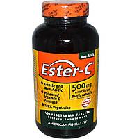 Витамин С (Vitamin C)  Эстер С биофлавоноиды American Health 500 мг 225 таблеток