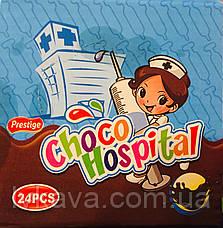 Шоколадный соус-желе Choco Hospital Prestige, 8 гр х 10 шт, фото 2
