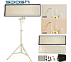 Мягкий свет софтбокс FL1x3A (FL-3090A) LED 575шт SMD светодиодов CRI95 3200-5600K для блогов, вебинаров, видео