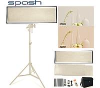 Мягкий свет софтбокс FL1x3A (FL-3090A) LED 575шт SMD светодиодов CRI95 3200-5600K для блогов, вебинаров, видео, фото 1