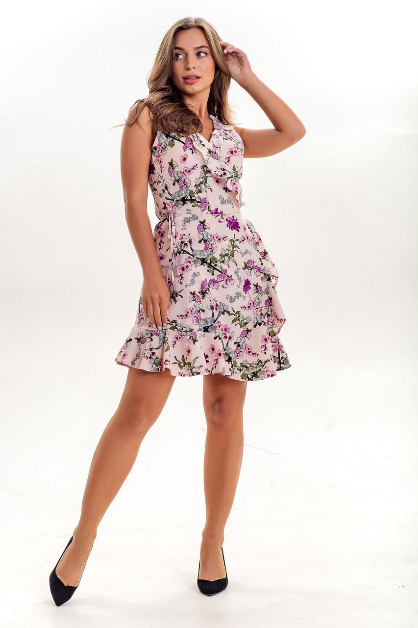 Платье K&ML 523.2 розовый 48
