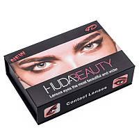 Линзы орехового цвета косметические HUDA BEAUTY Contact Lenses (Pure Hazel)