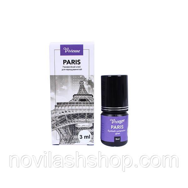 Клей Paris VIVIENNE 3мл для наращивания ресниц
