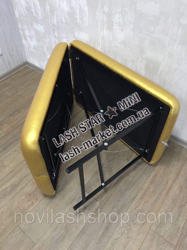 Косметологическая кушетка  LASH STAR MINI - золото