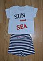 """Дитячий літній комплект """"Sun and Sea"""" (р. 68 см, 74 см) (Няня, Україна), фото 5"""
