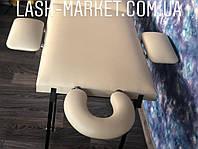 PROFI Кушетка косметологическая с подлокотниками, подголовником, массажный стол