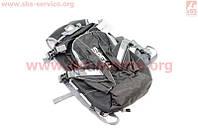 Рюкзак влагозащитный 20 литр.,вентилируемые накладки на спину, светоотражающие полосы, черный COMFORT SBP-059